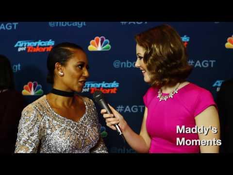 Mel B interview at America's Got Talent finale!!!