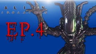 Delirious Plays Alien: Isolation Ep. 4 (It's Hunting me!)