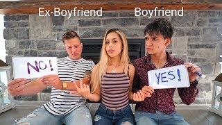 WHO KNOWS ME BETTER? My Boyfriend or My Ex Boyfriend! (bad idea)