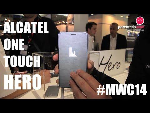 Alcatel One Touch Hero, primer acercamiento desde el MWC de Barcelona