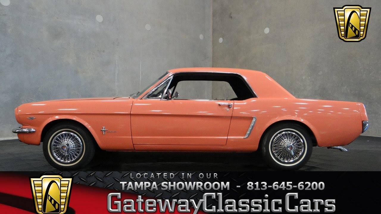 1964 1 2 Ford Pink Mustang Youtube Paint Colors Premium