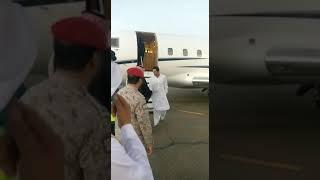 Imran khan arrival in KSA for umran 2018