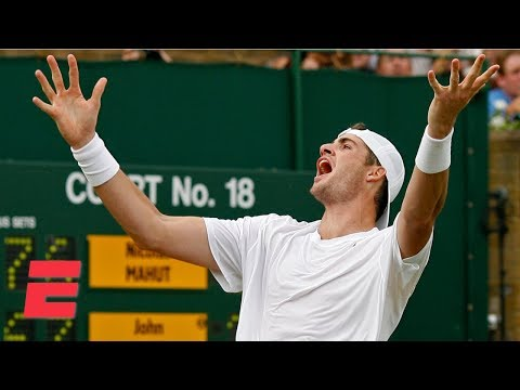 John Isner's epic Wimbledon 2010 match vs. Nicolas Mahut   ESPN Archives