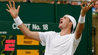 John Isner's epic Wimbledon 2010 match vs. Nicolas Mahut | ESPN Archives