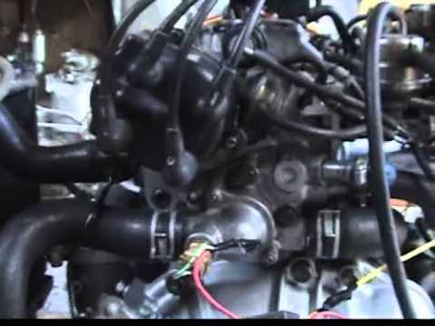 TOYOTA 5AF ENGINE (full stock) COROLLA AE91  YouTube