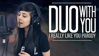 Repeat youtube video LUNITY - DUO WITH YOU (I Really Like You by Carly Rae Jepsen) | League of Legends Parody