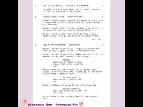 barely ki barfi full movie script screenplay download youtube