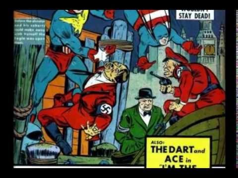 Deconstructing Propaganda: World War II Comic Book Covers, Episode 8--Allies and Allied Leaders