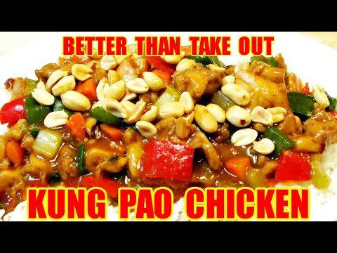 Kung Pao Chicken - How to make Kung Pao Chicken - Chinese Food