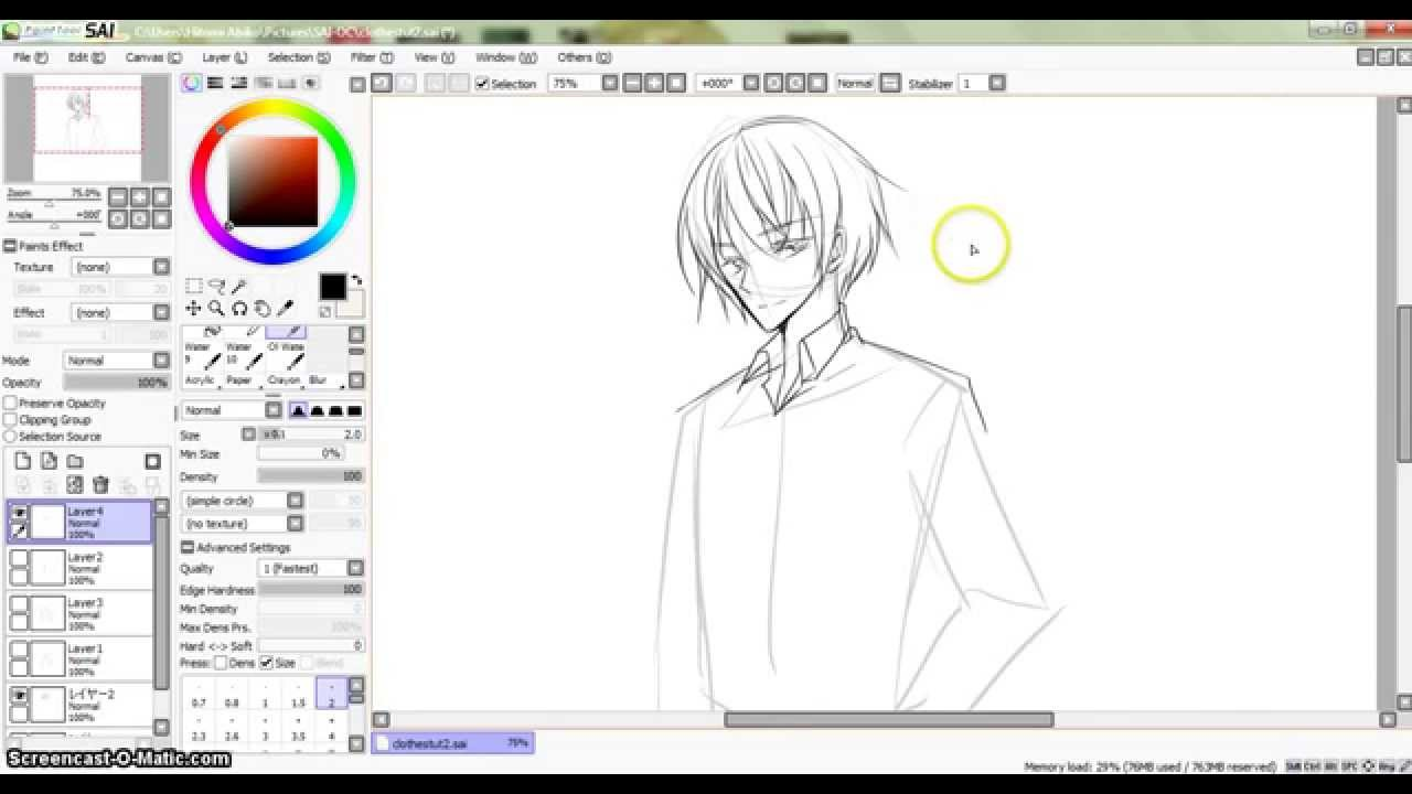 how to draw anime collared shirt on an anime guy youtube