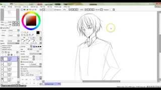 How to Draw Anime: Collared Shirt on an Anime Guy!