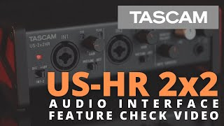 Video: Scheda Audio Usb Tascam Us-2x2hr Hight-resolution
