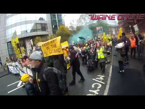 Anti-Fracking Protest Manchester | Twaine Online