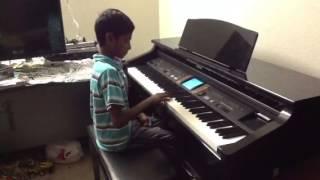 Alaikaa alaikaa song ----piano(manoj kumar mohan)