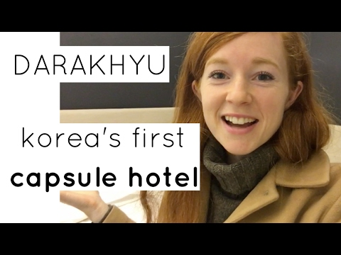 Staying at Korea's First Capsule Hotel | Darakhyu (다락휴) @ Incheon Airport
