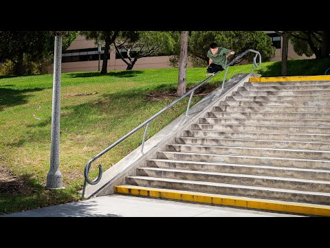 Watch this incredible skateboarder who has no legs
