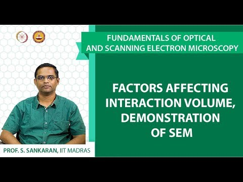 MM03- Fundamentals of optical and scanning electron microscopy-Lecture 16