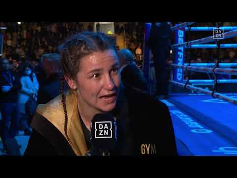Katie Taylor Reveals Career Goal Before Retiring In Post-Fight Interview
