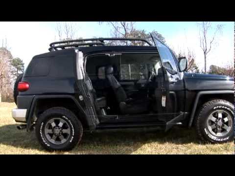 2007 Toyota Fj Cruiser Sale 2007 FJ Cruiser Black TRD-You - YouTube