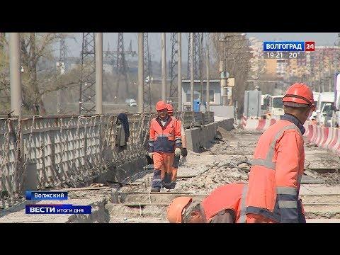 В Волжском идет масштабный ремонт дорог