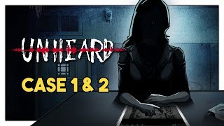 Let's Play Unheard Case 1 & 2 - Audio Detective Mystery [First Hour PC Gameplay]