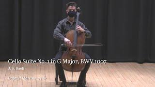Bach Cello Suites 1-3 LIVE (Gabriel Martins)
