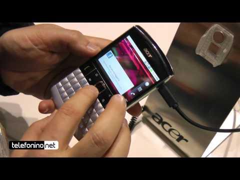 Acer beTouch E210 Videopreview da Telefonino.net @ MWC 2011