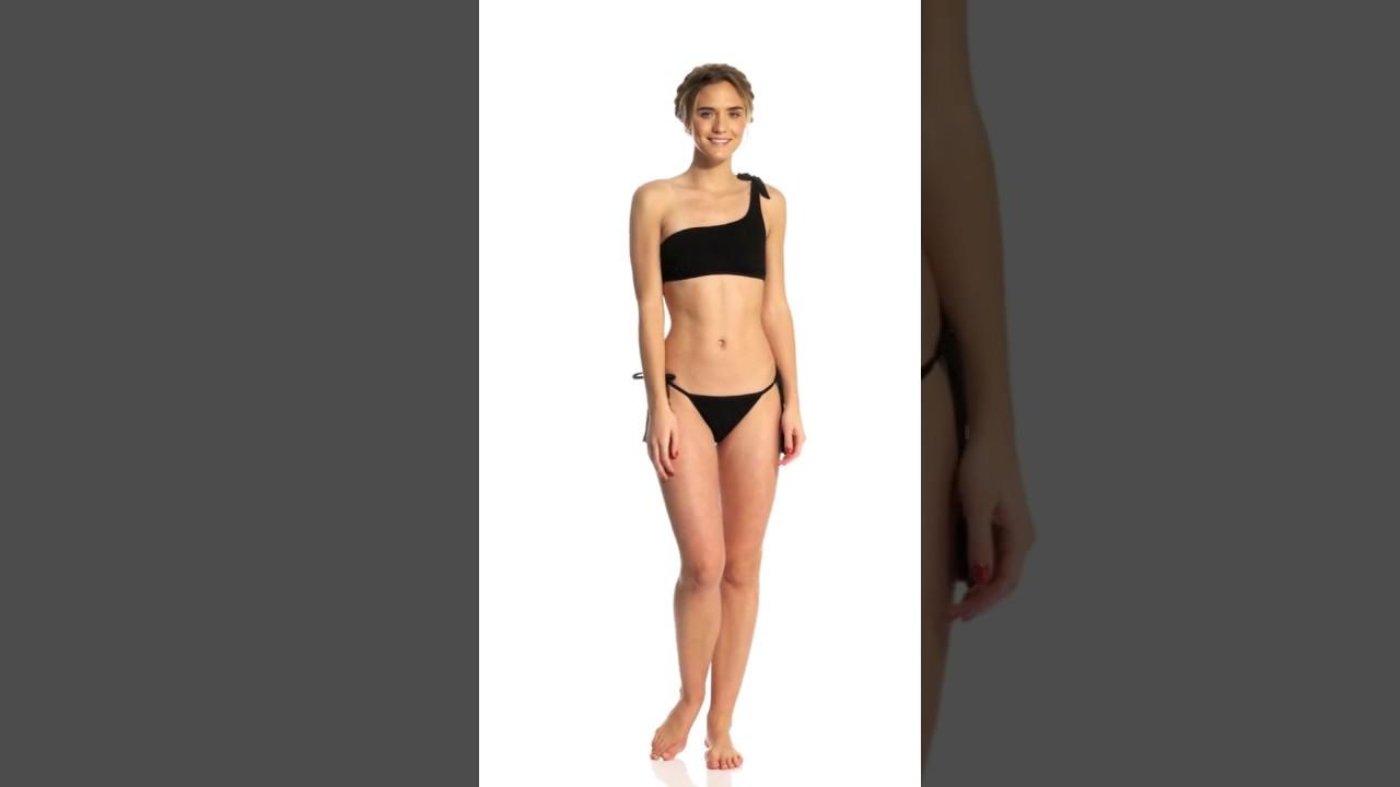 219f247871258 Somedays Lovin Ashed Trail Asymmetrical Bikini Top | SwimOutlet.com ...