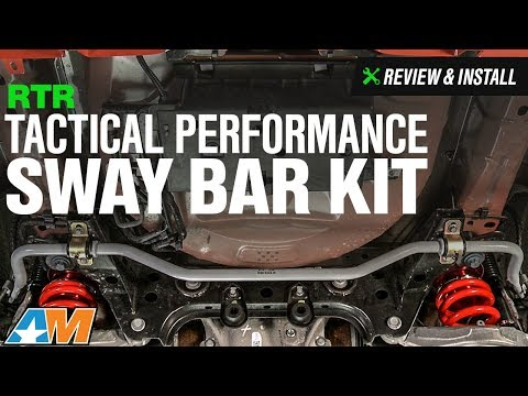 2015-2017 Mustang RTR Tactical Performance Adjustable Sway Bar Kit - Front and Rear Review & Install