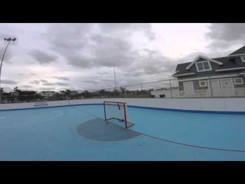 1v1 Roller Hockey Posts Only Game