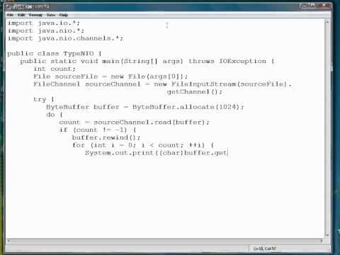 Advanced Java Programming Tutorial | Display File Contents