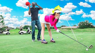 DESTROYING GOLF TOURNAMENT PRANK (COPS CALLED)