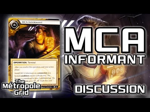 Netrunner Discussion: MCA Informant