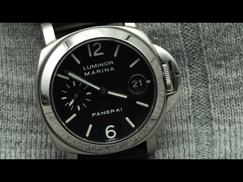 PANERAI Luminor 40mm - Recensione Del PANERAI Per POLSI PICCOLI - Pam 00048
