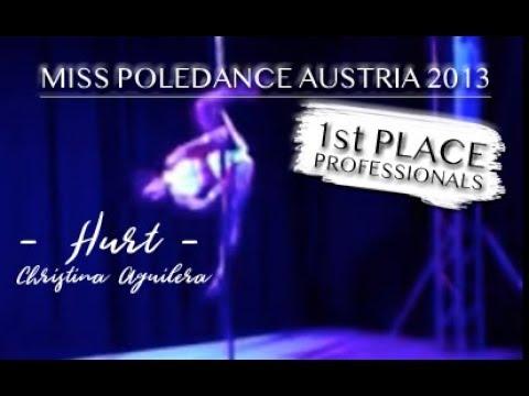 Miss Poledance Austria 2013 - Damen Professional Mona Arbinger, 1. Platz