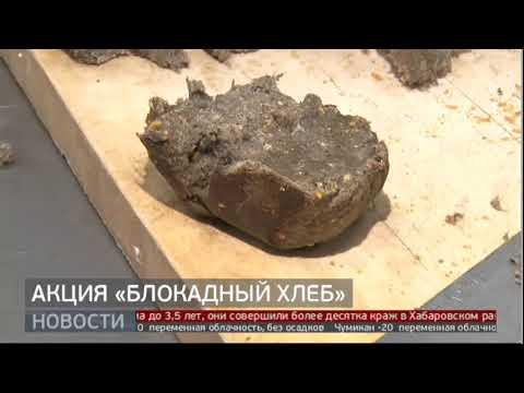 Акция «Блокадный хлеб». Новости. 24/01/2020. GuberniaTV