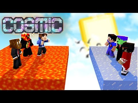 The Adventures of Blue Team - Minecraft Cosmic Sky Omega #1 | JeromeASF