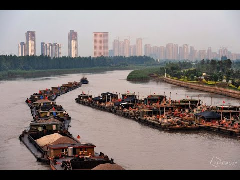 Ships on Beijing-Hangzhou Grand Canal stranded| CCTV English