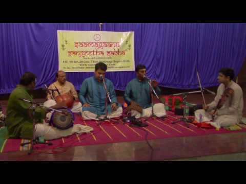 Carnatic Duet Vocal Concert by Bangalore Brothers & Team