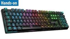 RGB-Gaming-Tastatur - Roccat Suora FX im Hands-on | deutsch / german