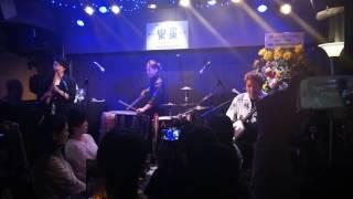 SUN蕊10周年記念ライブ@神保町 楽屋