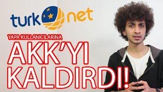 Turk.net Altyapısında AKK Kaltı! AKK'sız İnternet Devri Resmen Başladı!