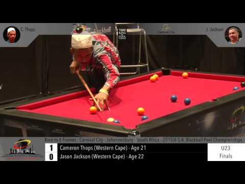 2015/16 S.A Blackball Pool Champs - Under 23