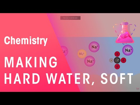 Learn how to turn Hard Water into Soft Water | The Chemistry