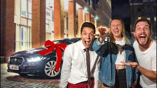 SURPRISING LOGAN PAUL&#39S ASSISTANT WITH A NEW CAR  Penne Vodka Ft. Dani Strobel
