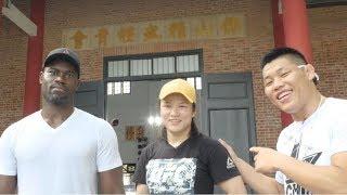 Zhang Weili Tours Foshan Chin Woo Athletic Association with Li Jingliang and Uriah Hall
