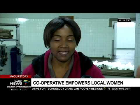All women toilet paper making cooperative making waves in KZN