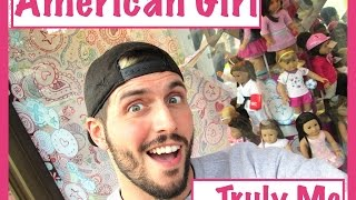 Shopping At American Girl - Truly Me - Doll Hunting For A Brand New Doll
