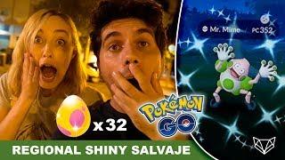 IMPRESIONANTE: CONSEGUIMOS A MR. MIME SHINY SALVAJE 😱 - Pokémon Go [LioGames]