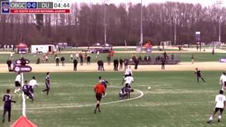 2016 National League - Boys - U17 - OBGC Rangers vs Davie United - Field 2 - Day 1 - 10am